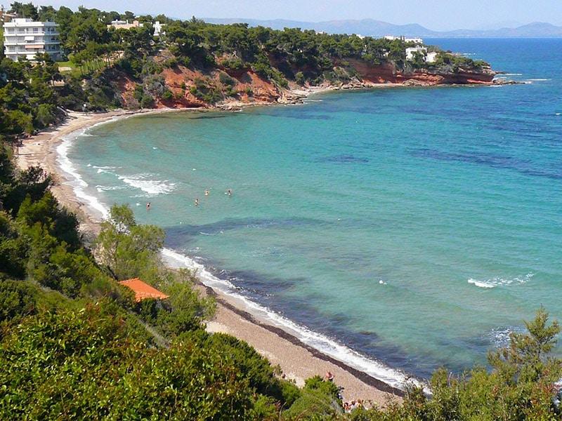 Melhores praias de Atenas