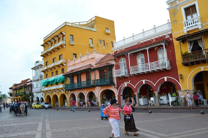 Temperatura em Cartagena das Índias, Colômbia