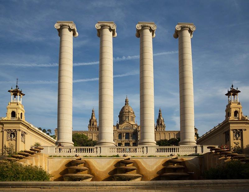 Pontos de interesse em Barcelona