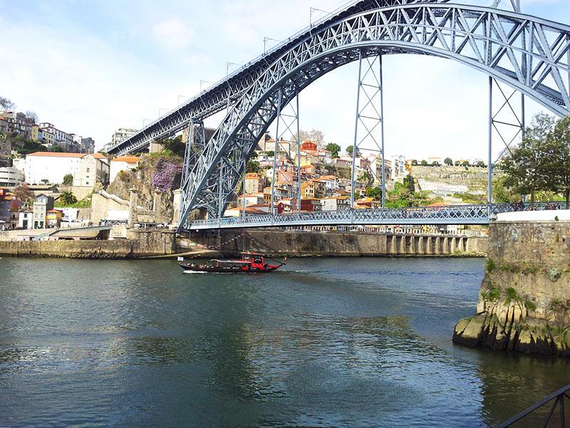 Pontos turísticos da cidade do Porto