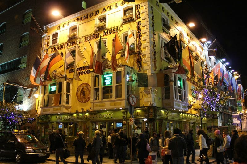Pontos turísticos de Dublin para visitar