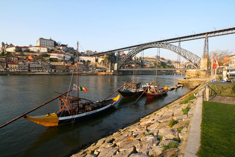 Pontos turísticos mais visitados do Porto