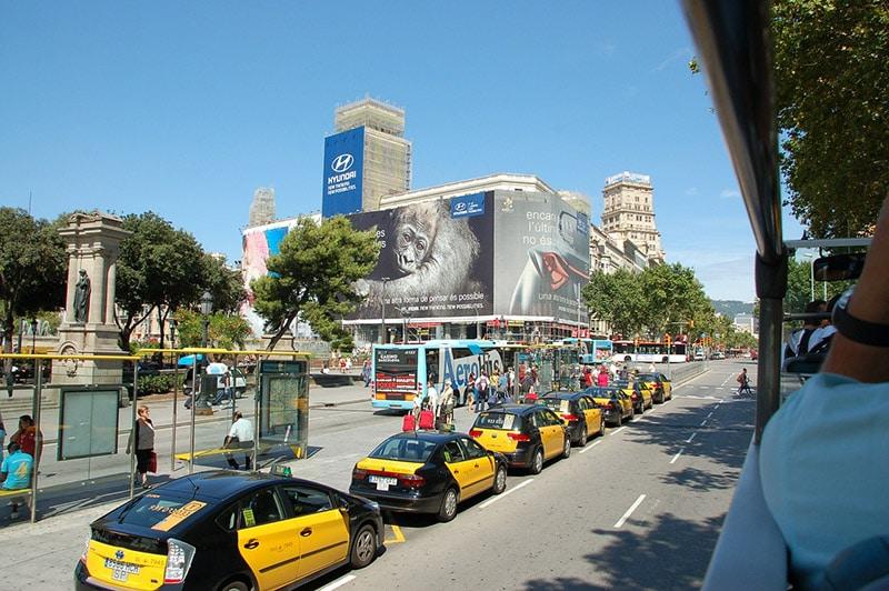 Transporte do centro ao aeroporto de Barcelona