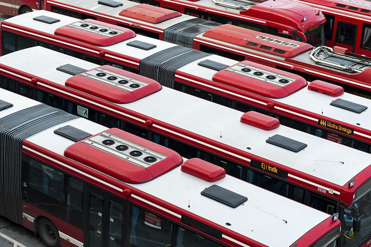 transporte publico em estocolmo ônibus