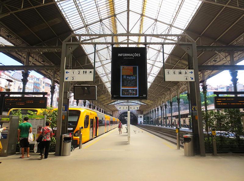 Trem turístico de Portugal