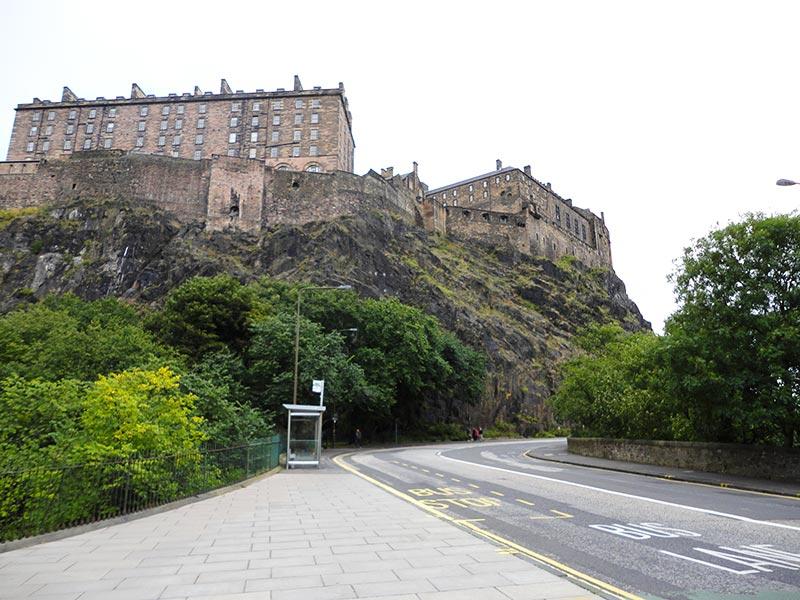 Visita ao Castelo de Edimburgo