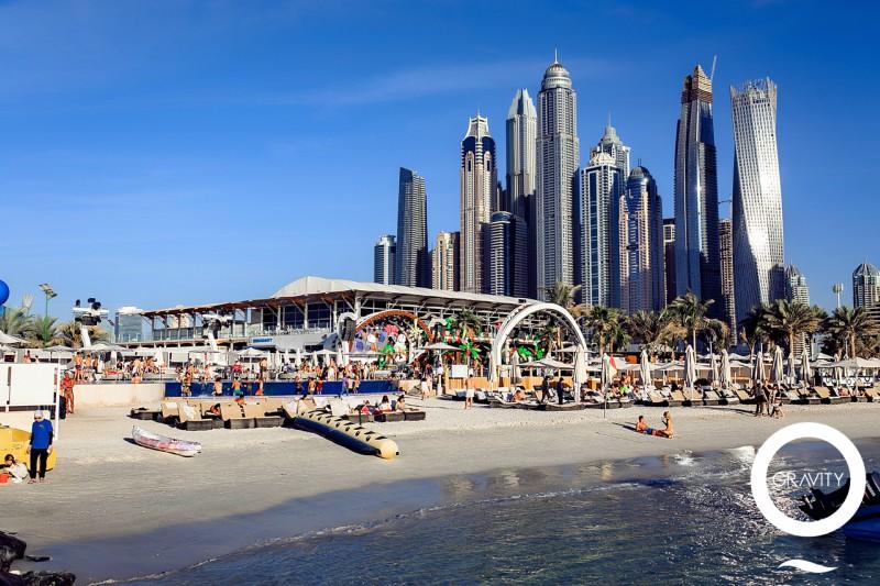 Beach clubs em Dubai