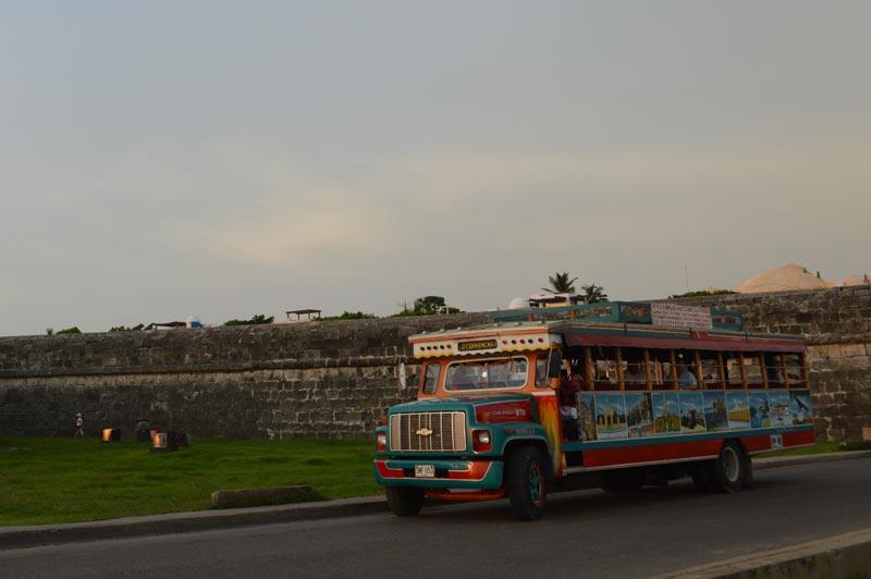 Transporte público em Cartagena das Índias