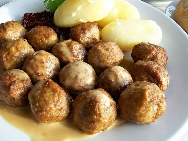 Comidas típicas da Suécia