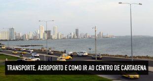 Como ir do aeroporto de Cartagena para o centro