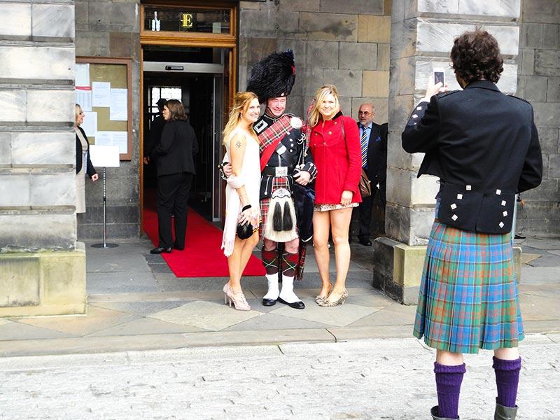 Trajes típicos escoceses: o kilt