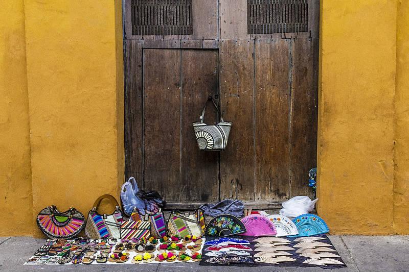 Compras em Cartagena, Colômbia