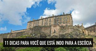 Dicas em blog de viagem sobre a Escócia
