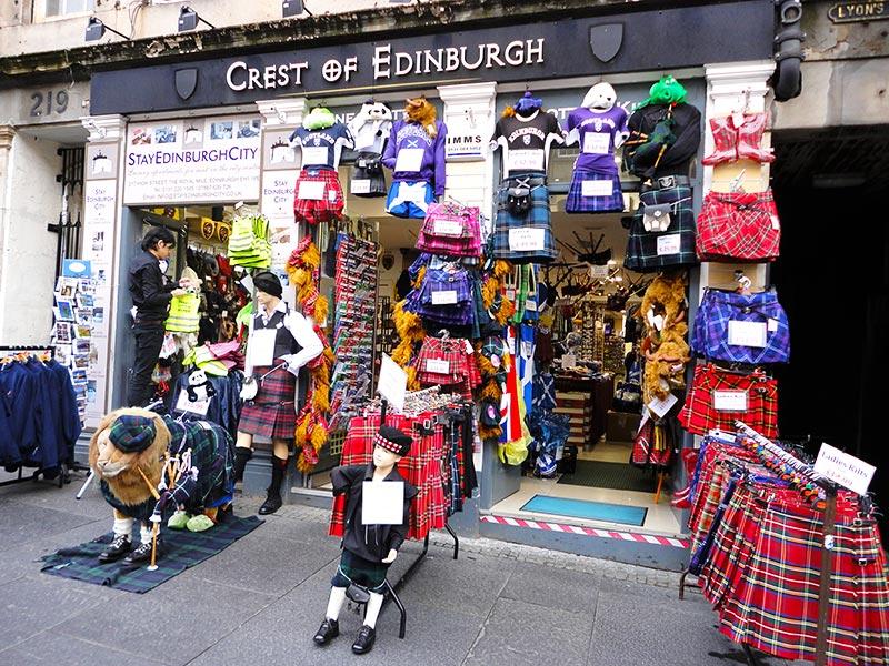 Compras em Edimburgo
