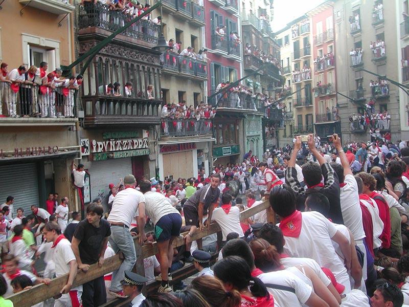 Fotos das Festas de São Firmino, em Pamplona