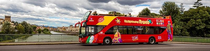 Ônibus turístico de Florença