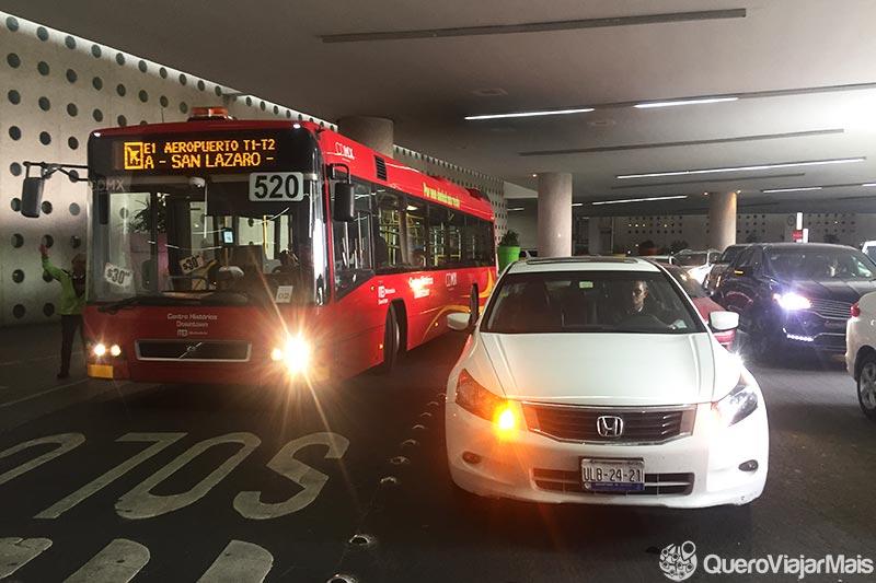 Ônibus do aeroporto da Cidade do México ao centro