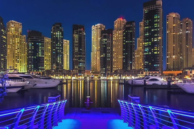 O que fazer em Dubai à noite