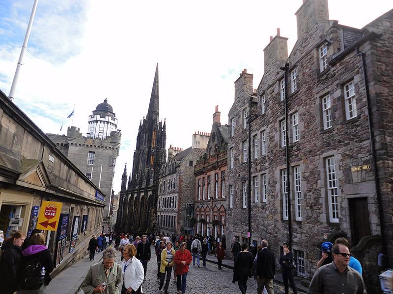 Roteiro em Edimburgo, Escócia