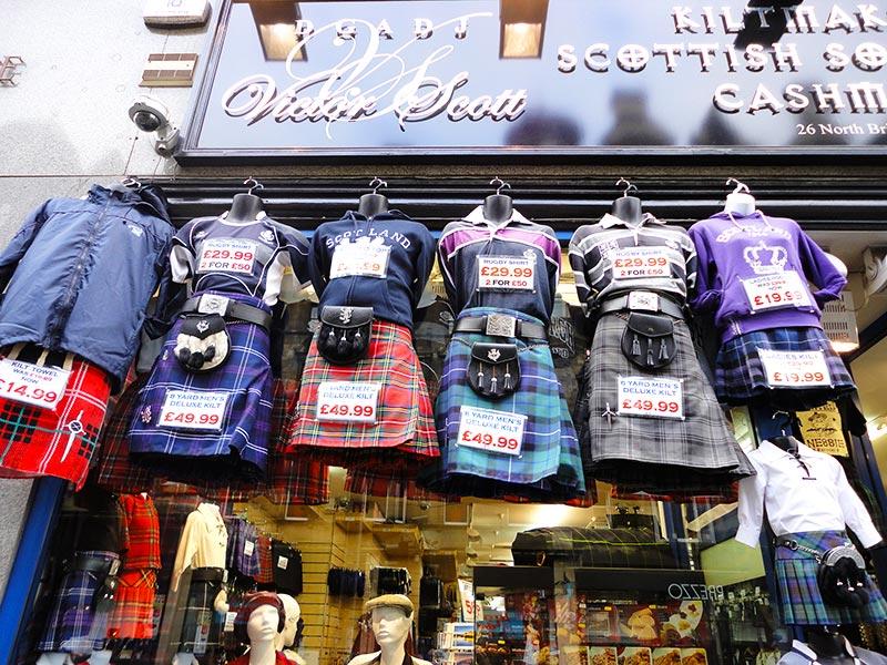 Souvenirs na Escócia
