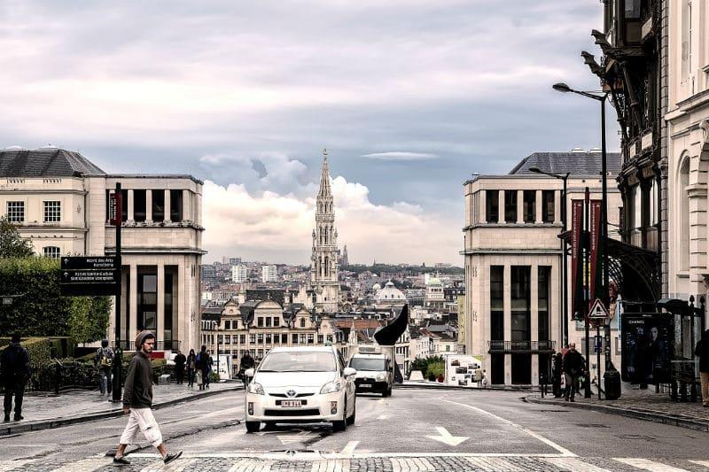 Táxi em Bruxelas