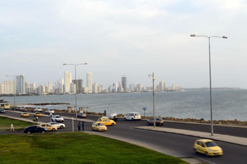 Transporte em Cartagena