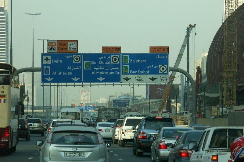 Táxi em Dubai