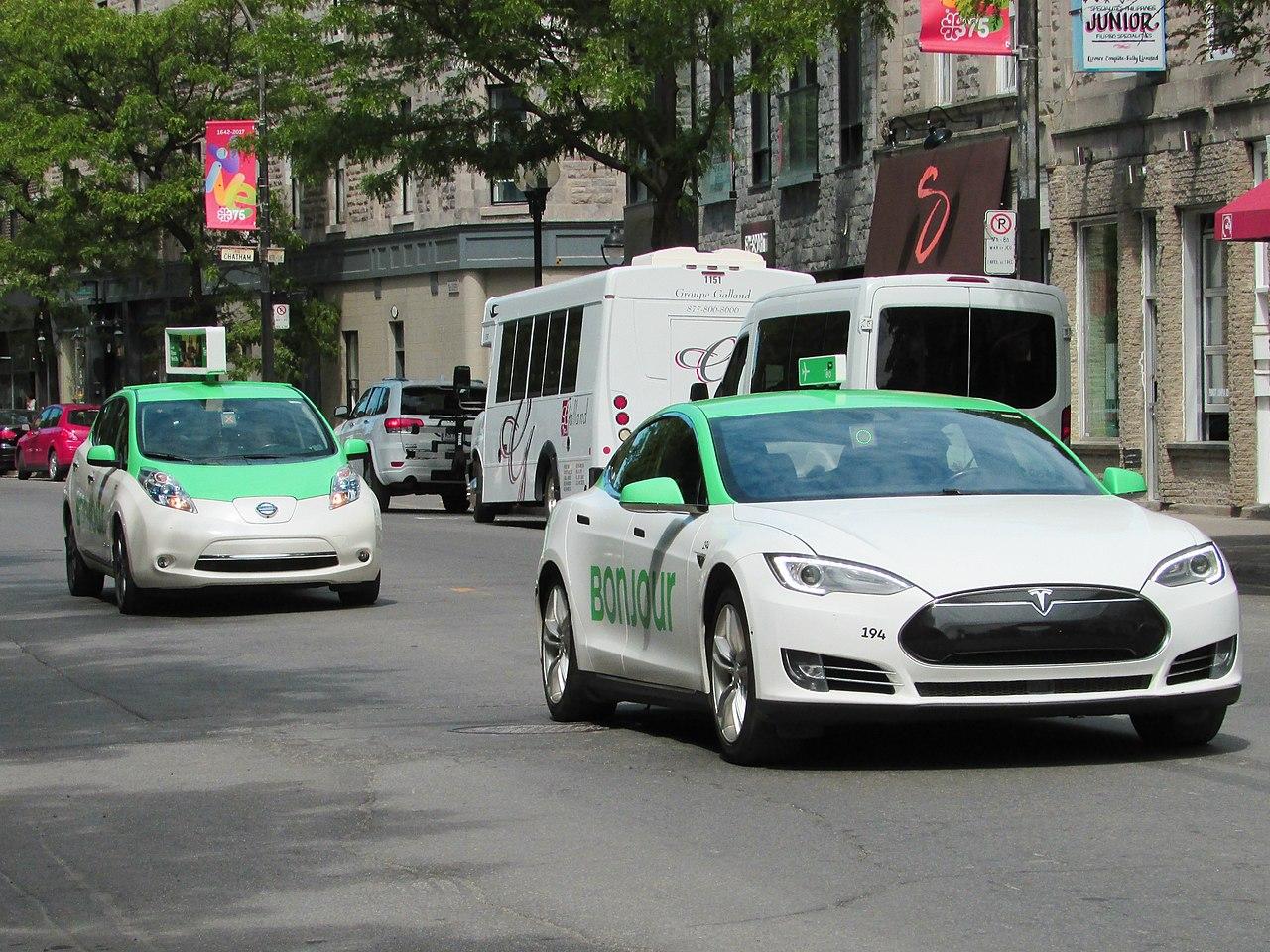 Táxi em Montreal
