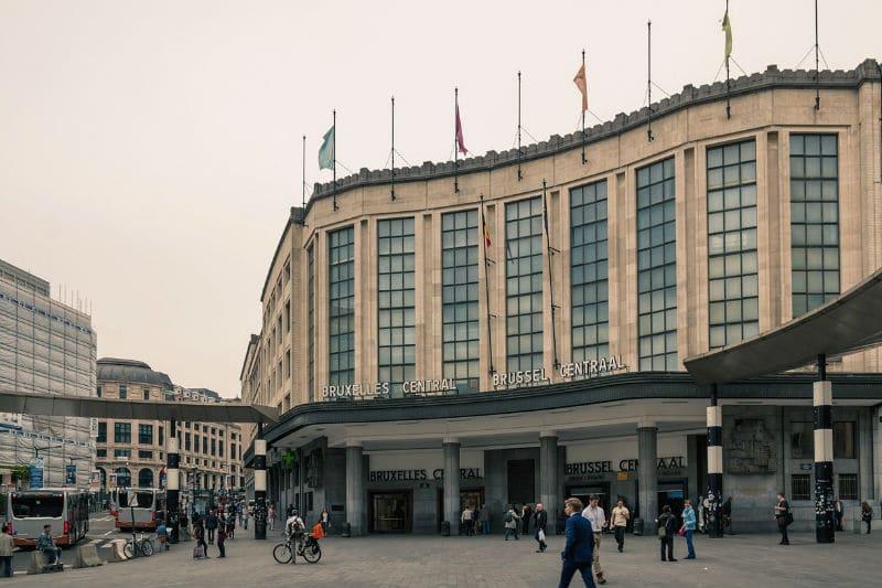 Transporte público em Bruxelas