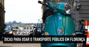 Transporte público e como se locomover em Florença
