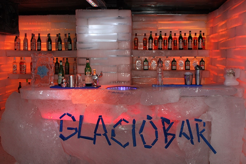 Bar de gelo em El Calafate