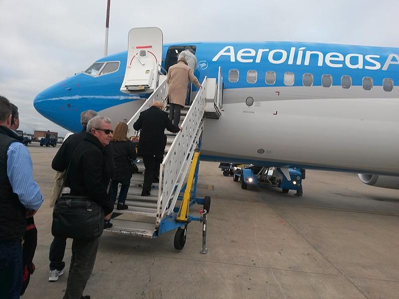 Como chegar em El Calafate pela Aerolineas