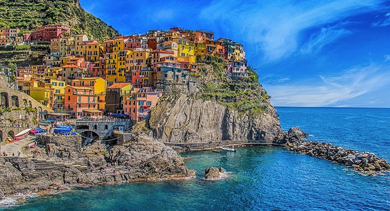 Principais destinos turísticos na Itália