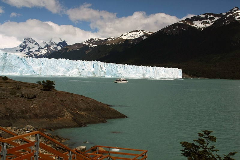 Transporte até o glaciar Perito Moreno