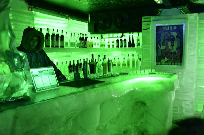 Onde fica o bar de gelo em El Calafate