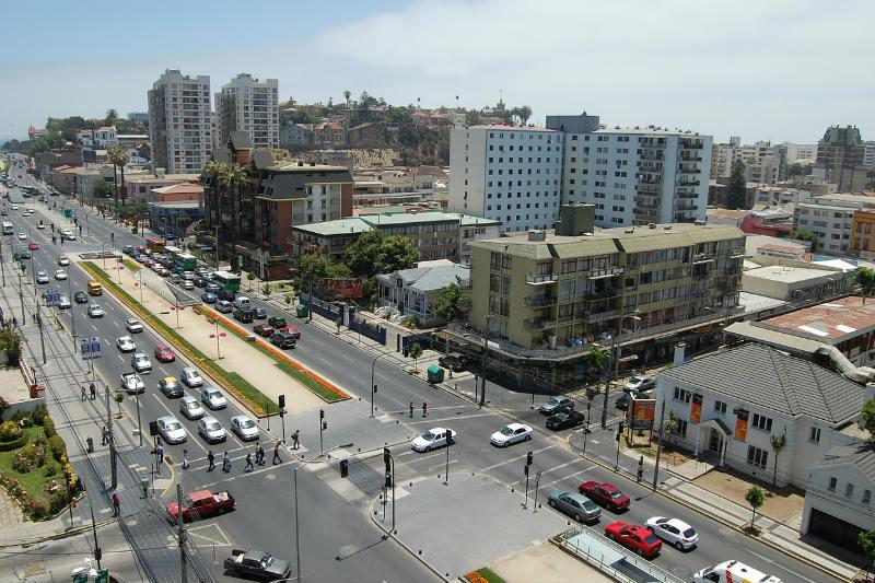 Passeio Viña del Mar e Valparaíso
