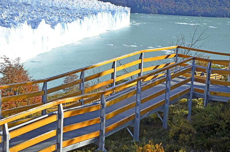 Perito Moreno em El Calafate