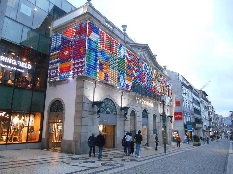 Shoppings no Porto, Portugal