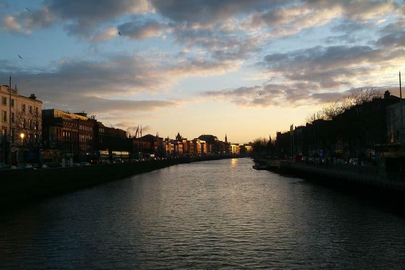 Pontos de interesse em Dublin, na Irlanda