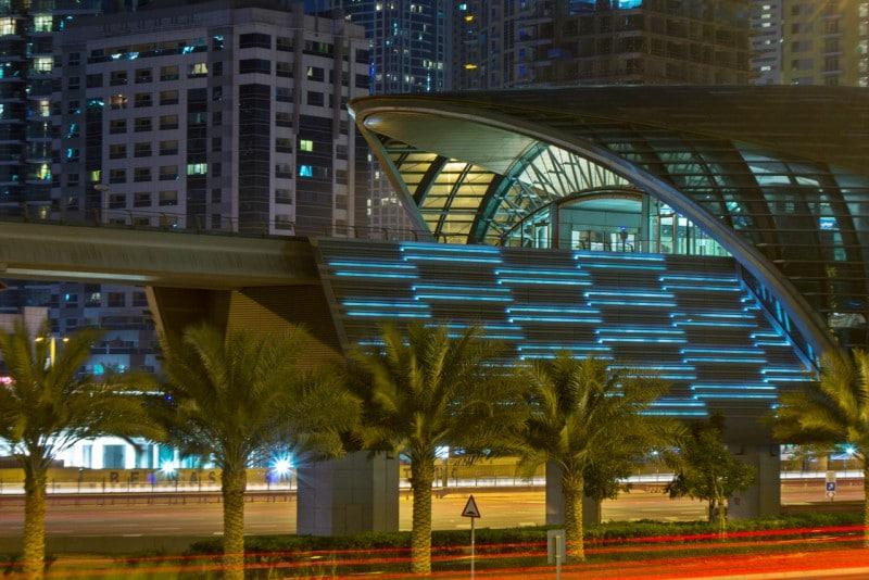 Transporte público em Dubai