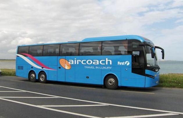Ônibus do aeroporto ao centro de Dublin