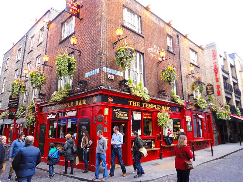 Fotos dos pontos turísticos de Dublin