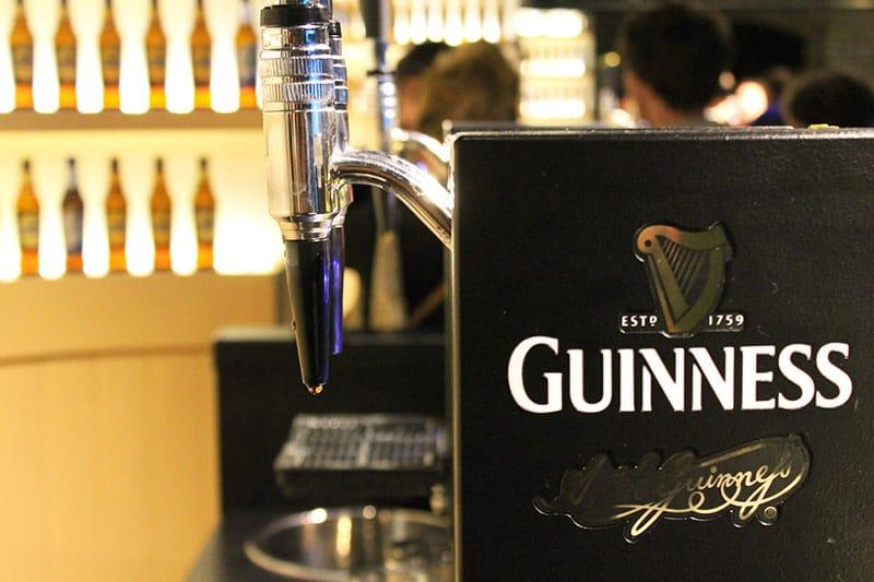 Fábrica da Guinness, um dos principais pontos turísticos de Dublin