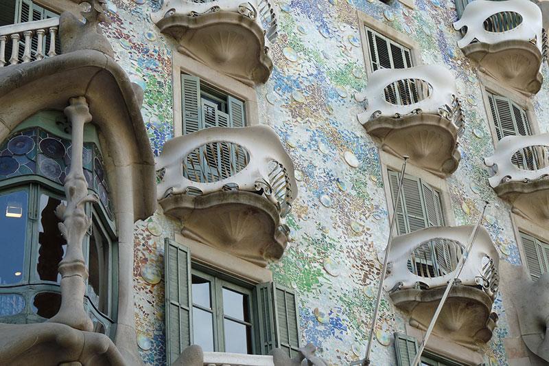 Roteiro de Gaudí em Barcelona