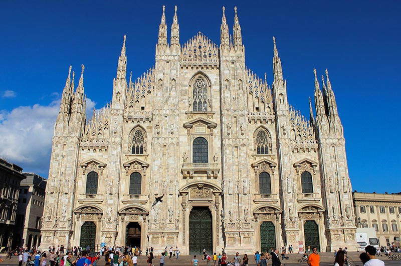 Roteiro em Milão, na Itália