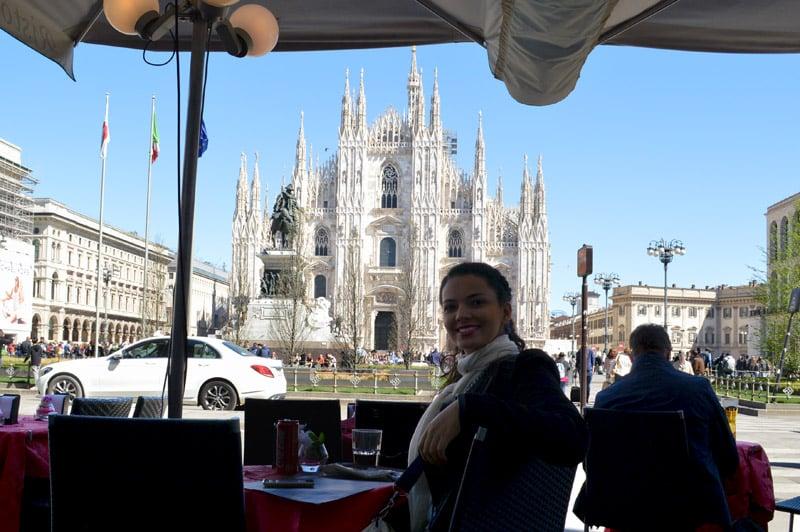 Roteiro em Milão