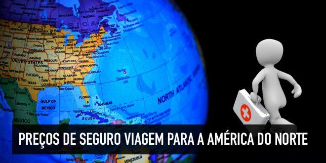 Seguro viagem para a América do Norte