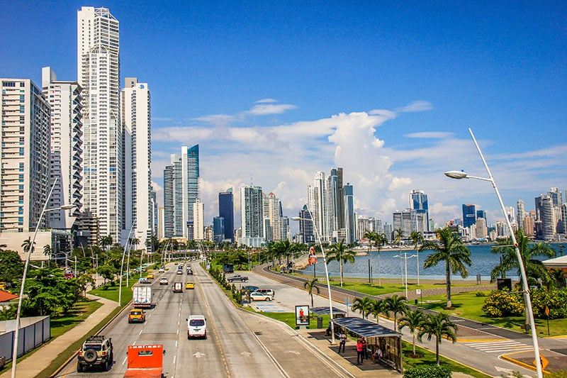 Custo do transporte na Cidade do Panamá
