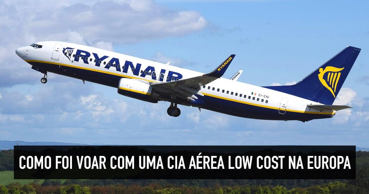 1ad5d92f705 Minha experiência com viagens e voos low cost na Europa