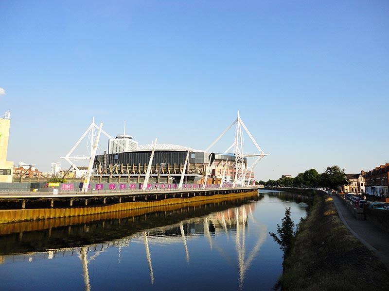 Principais pontos de interesse em Cardiff
